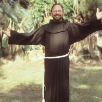 Conrad Harkins our digging Franciscan